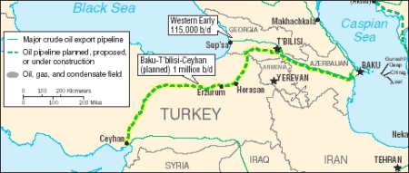 Baku-Tblisi-Ceyhan (BTC) Pipeline