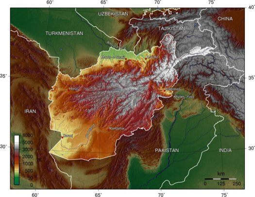 afghanistan_topography